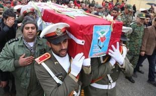 پیکر شهید سانحه هوایی ارتش در کرمانشاه تشییع شد