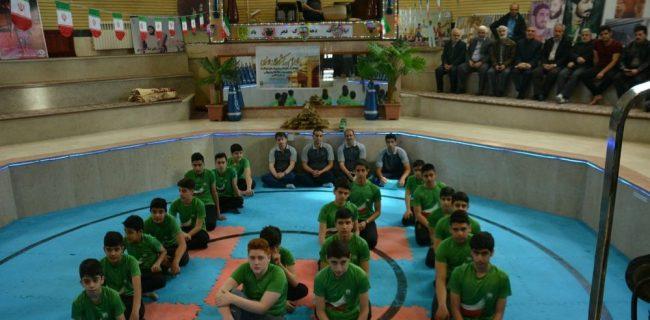 خادمیاران نوجوان کرمانشاهی راهی المپیاد ورزشی شدند