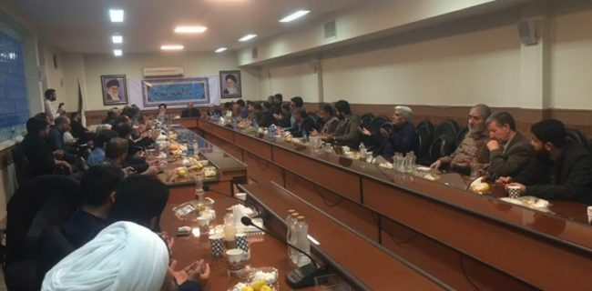 تجلیل از مسئول سازماندهی مواکب اربعین حسینی در کشور عراق