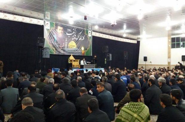 یادبودی برای اولین شهید مدافع حرم کرمانشاه