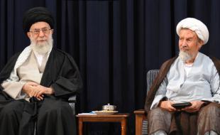 رهبر معظم انقلاب رحلت فقیه پارسا آیت الله محمد مؤمن را تسلیت گفتند