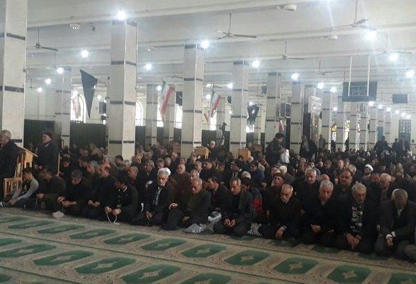 مراسم شهادت حضرت زهرا (س) در کرمانشاه برگزار شد