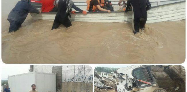 فعالیت گروه جهادی «خشتهای مهربانی» کرمانشاه در لرستان ادامه دارد