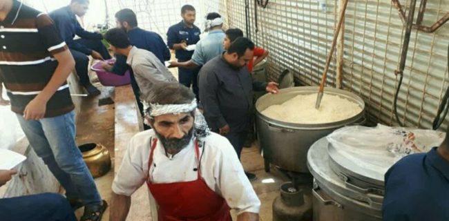 خدمترسانی موکب الزهرا(س) کرمانشاه در مناطق سیلزده لرستان