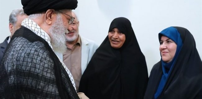 """امام خامنهای درباره """"فرنگیس"""" چه گفت؟"""