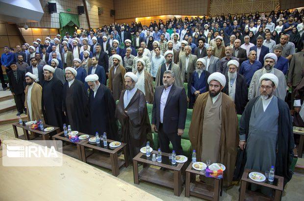 آیین تودیع و معارفه مدیران اوقاف و امور خیریه استان کرمانشاه