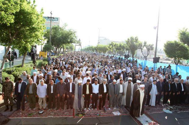 نماز پرشکوه عید سعید فطر در کرمانشاه اقامه شد