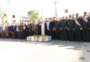 تشییع باشکوه پیکر شهید مدافع امنیت در کرمانشاه