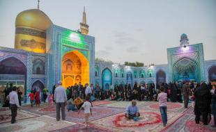 شبیهسازی صحن انقلاب حرم امام رضا(ع) در کرمانشاه