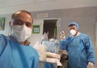 جبهه ایران این روز ها بیمارستان ها است.