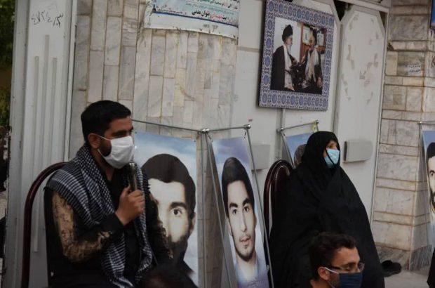 روضه های خیابانی مقابل منازل شهدای کرمانشاه