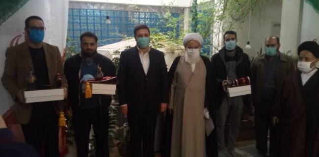 تجلیل از فعالان مردمی جهاد و شهادت