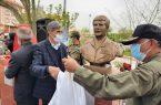 یادمان فرمانده عملیات اچ ۳ و ۱۷ خلبان شهید کرمانشاهی رونمایی شد