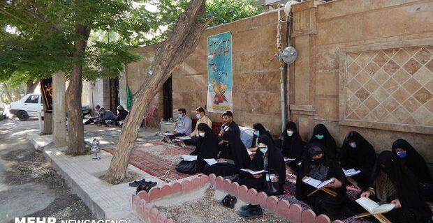 عطر قرآن در کوچه های کرمانشاه
