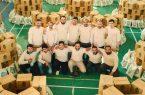 توزیع ۱۰۰۰ بسته معیشتی در بین مددجویان کرمانشاه
