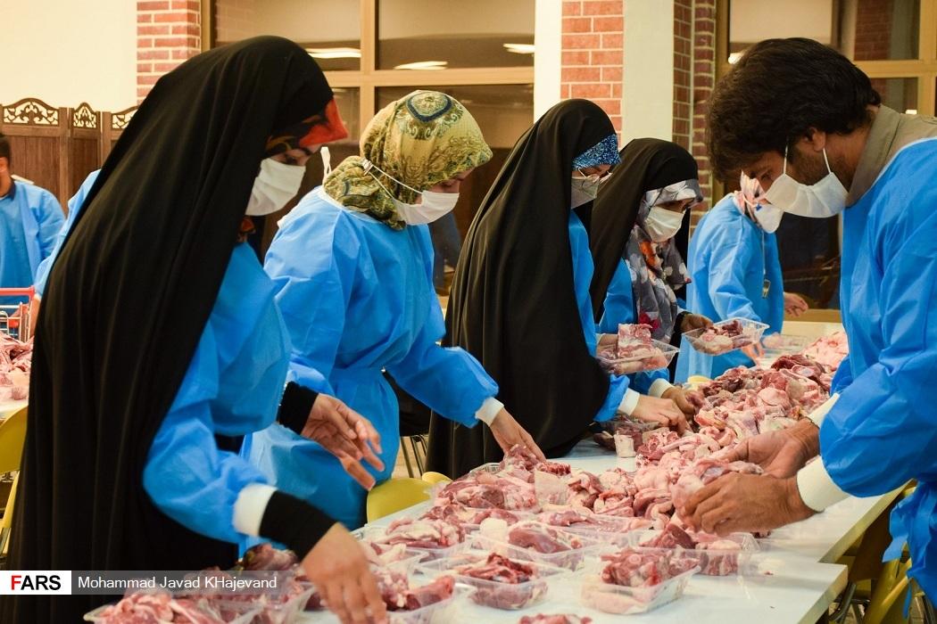 اینجا محبت به سه هزار خانواده روبان خورد/ لیله القدر جهادیها زودتر شروع شد